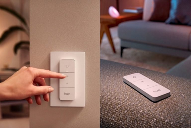 How to control Philips Hue lights with dimmer switch